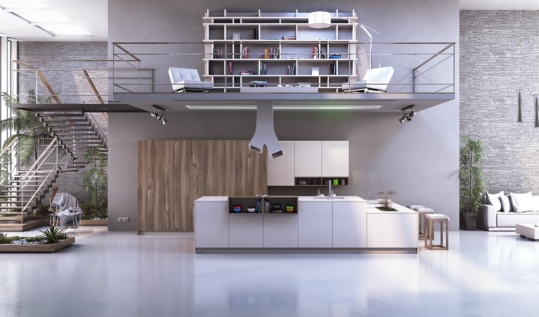 Precios cocinas modernas cool empresa madrid reformas - Precio de cocinas modernas ...